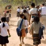 Cambodia School Children